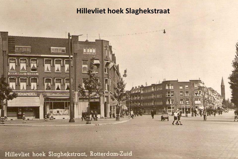 Hillevliet hoek Slaghekstraat