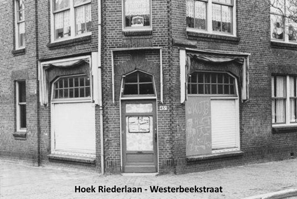 Hoek Riederlaan - Westerbeekstraat