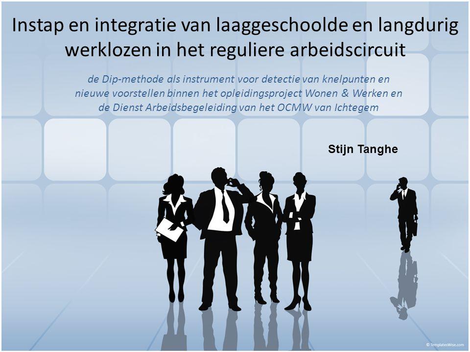 Instap en integratie van laaggeschoolde en langdurig werklozen in het reguliere arbeidscircuit