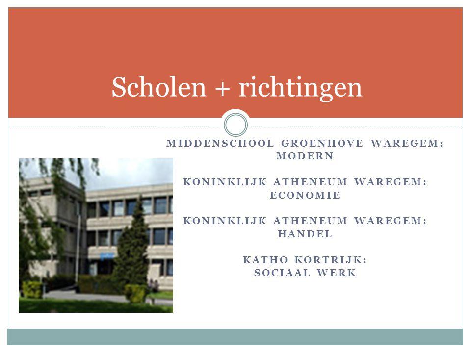 Middenschool Groenhove Waregem: Koninklijk Atheneum Waregem: