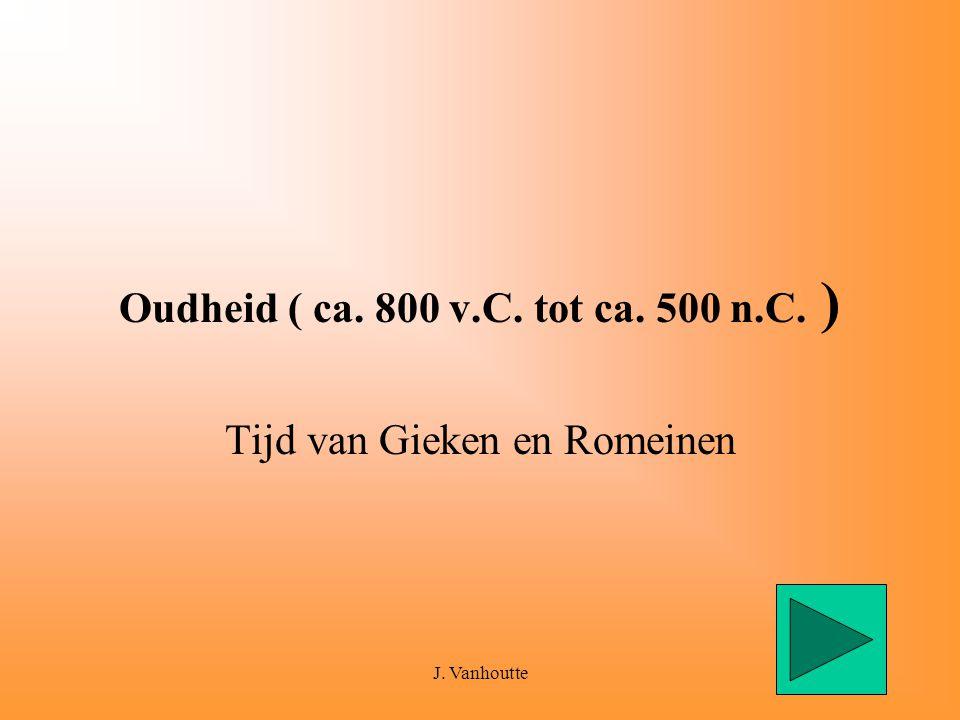 Oudheid ( ca. 800 v.C. tot ca. 500 n.C. )