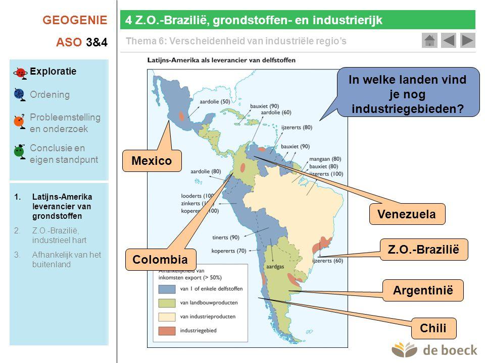 In welke landen vind je nog industriegebieden