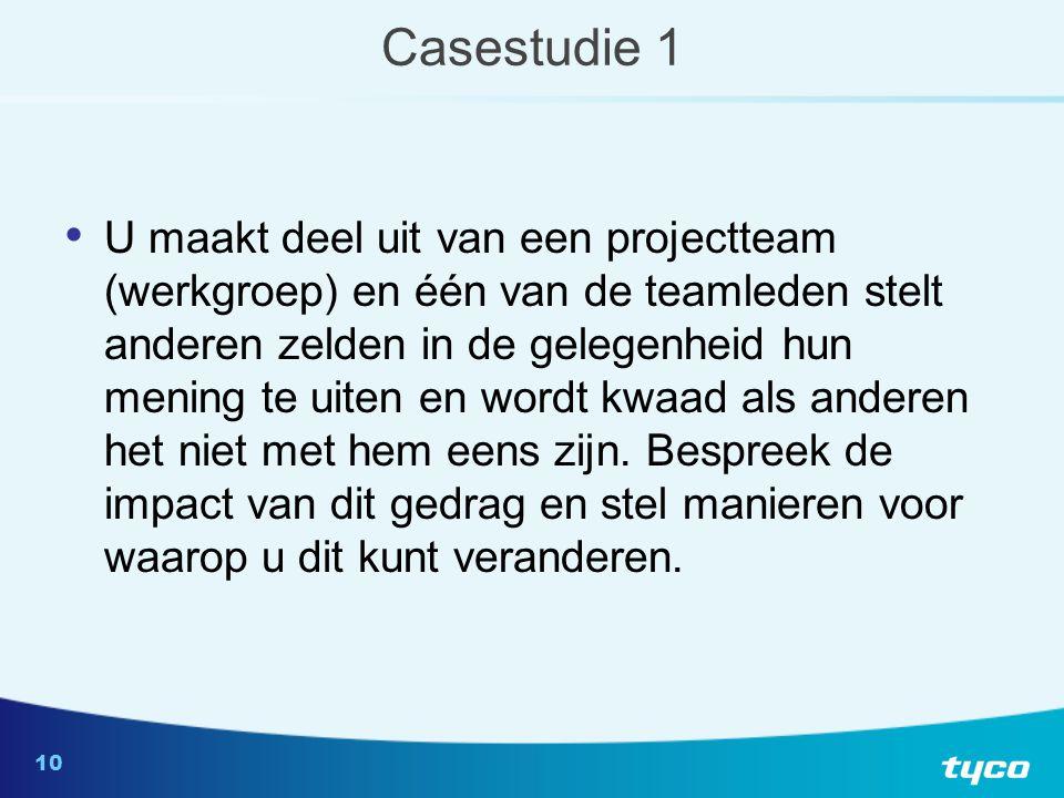 Casestudie 2