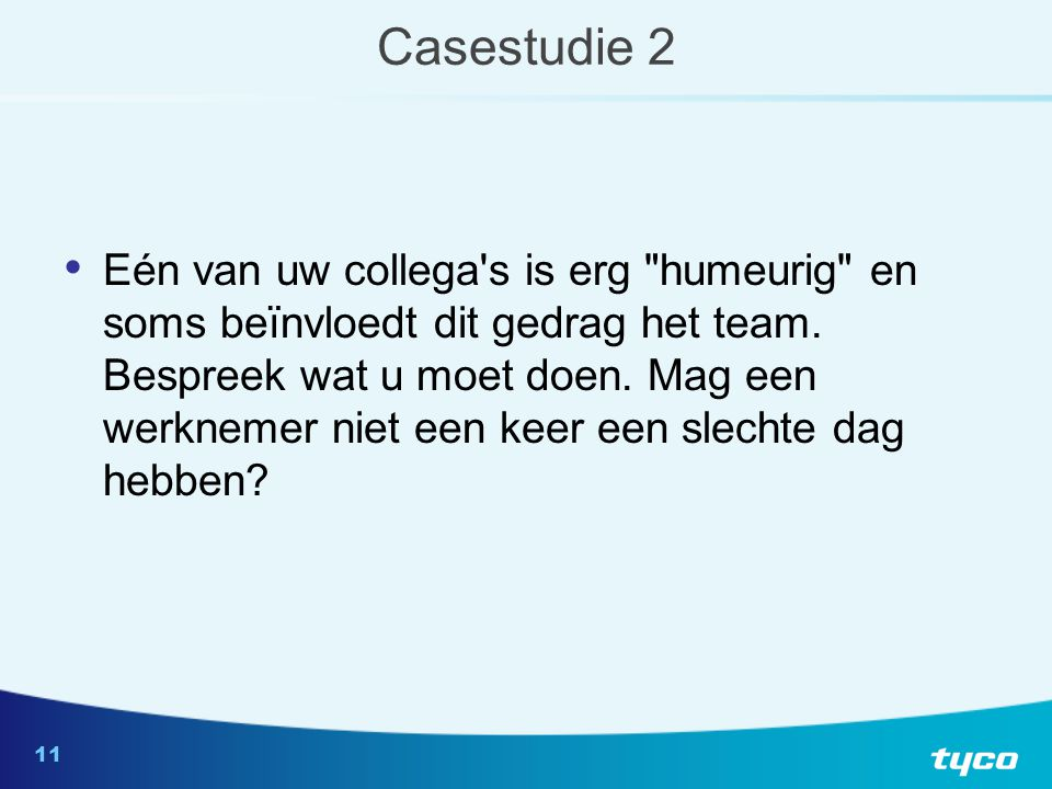 Casestudie 3