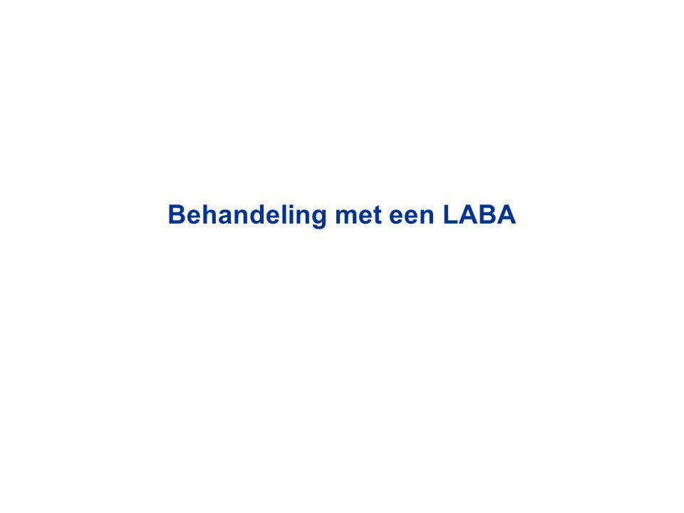 Behandeling met een LABA