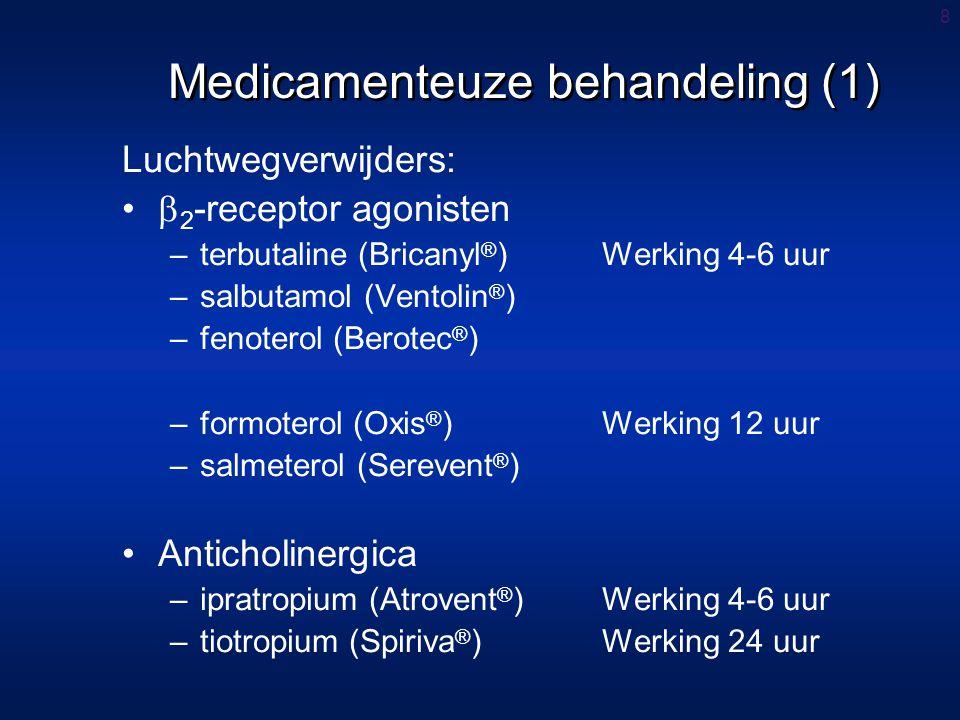 Medicamenteuze behandeling (1)