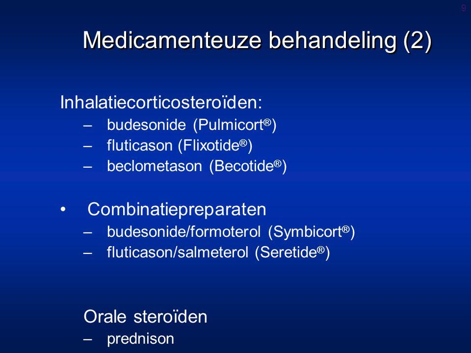 Medicamenteuze behandeling (2)