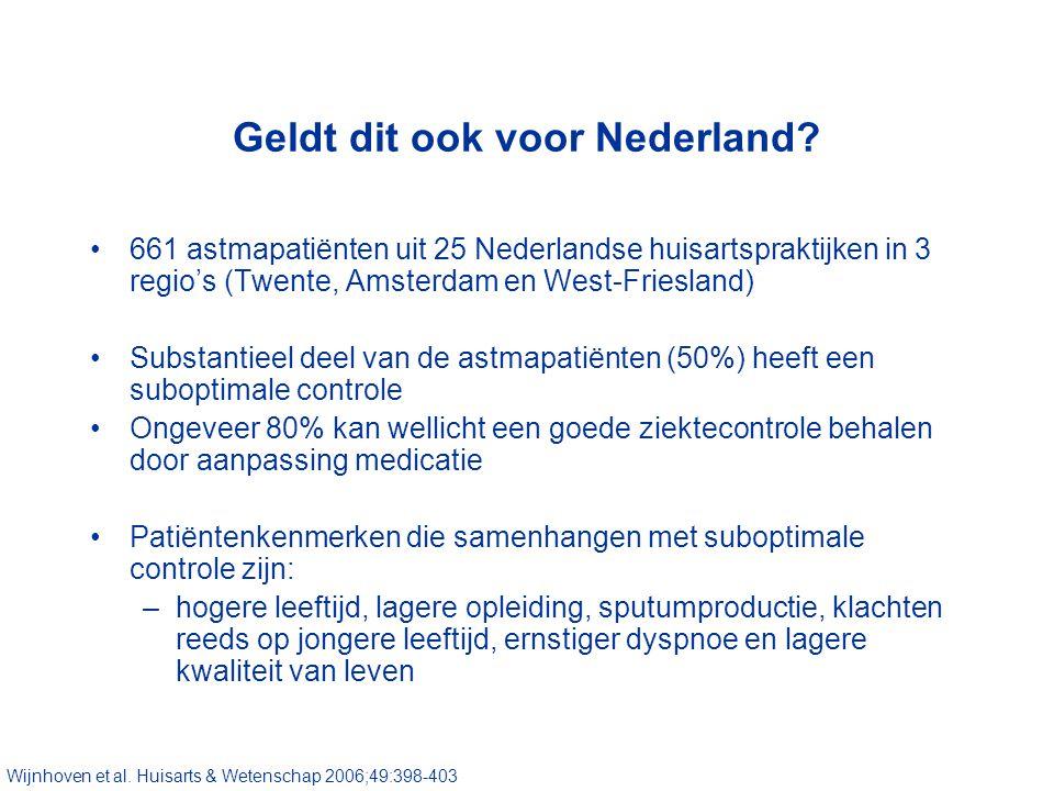 Geldt dit ook voor Nederland