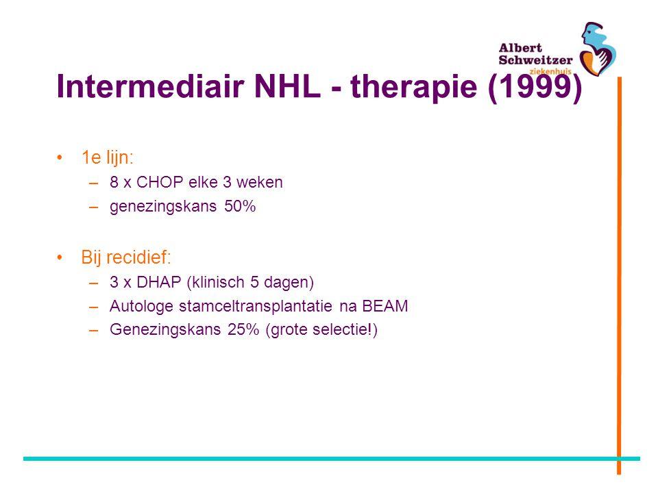 Intermediair NHL - therapie (1999)