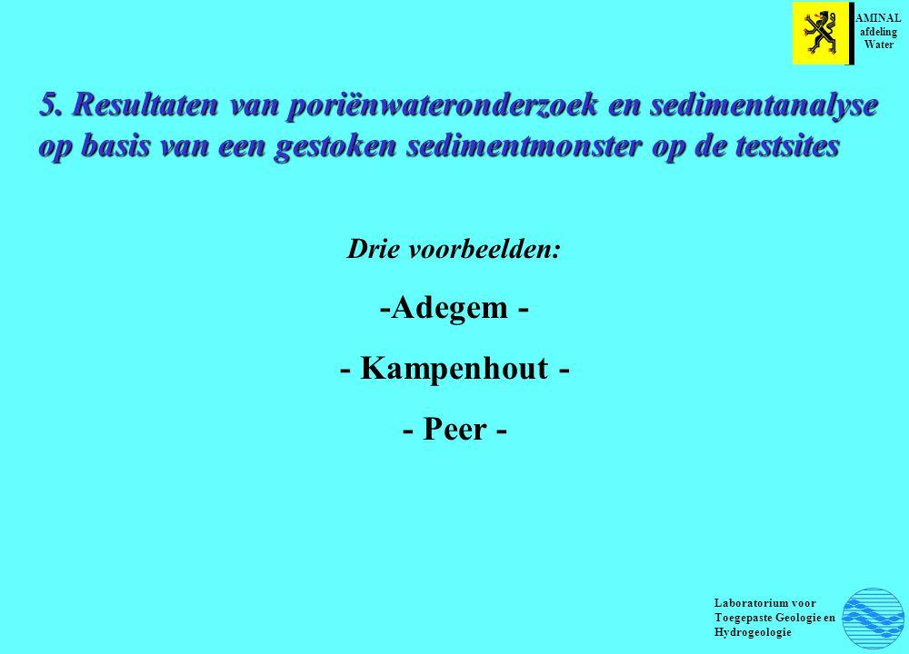 -Adegem - - Kampenhout - - Peer -