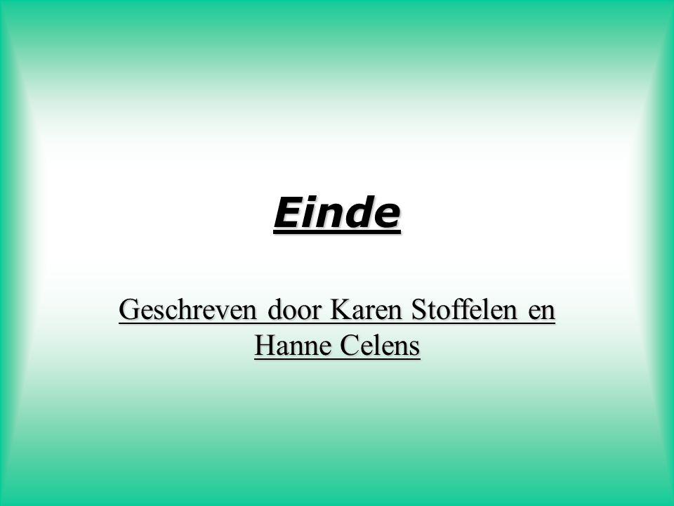Geschreven door Karen Stoffelen en Hanne Celens