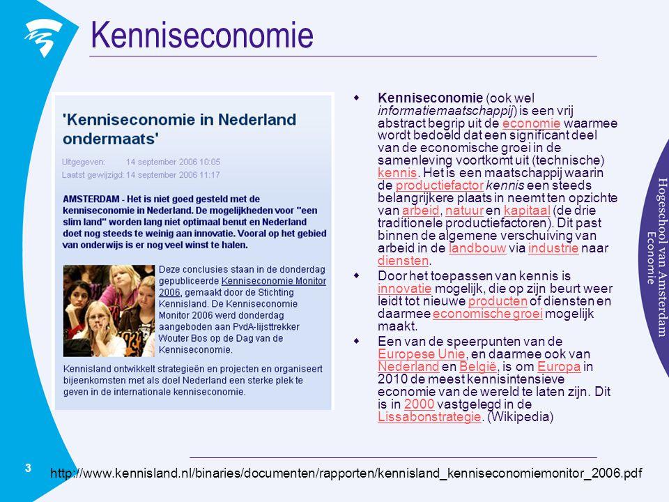 Kenniseconomie