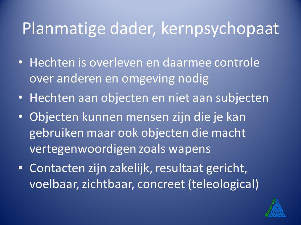 Planmatige dader, kernpsychopaat