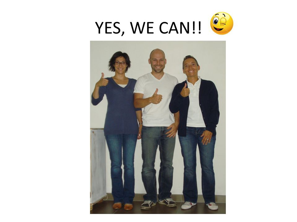 YES, WE CAN!!