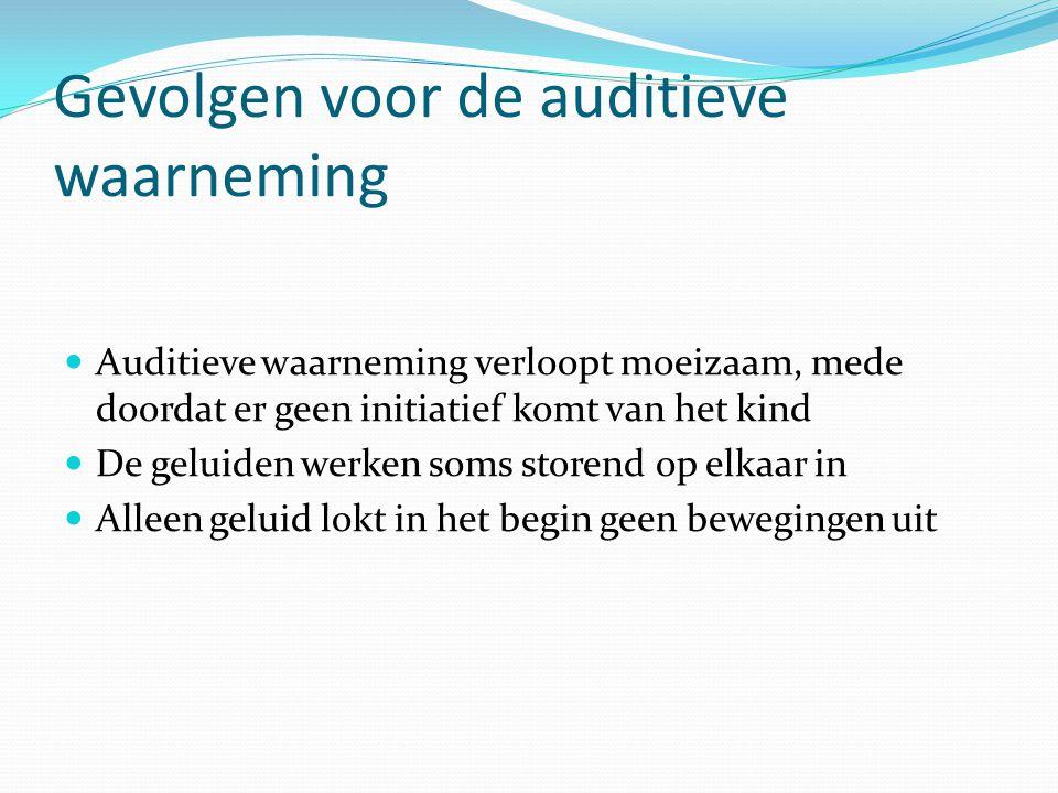 Gevolgen voor de auditieve waarneming