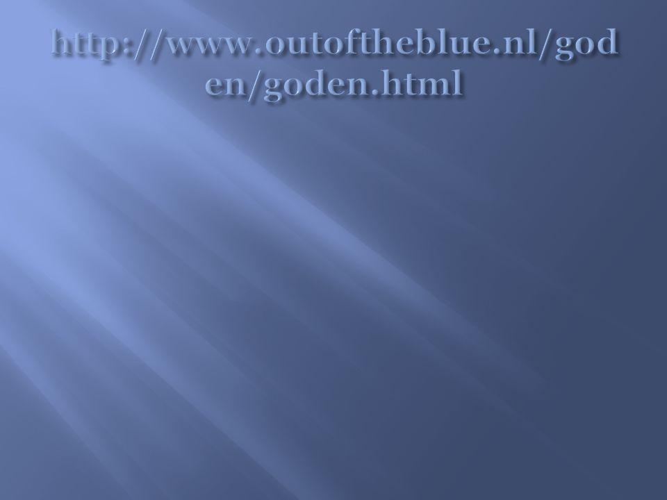 http://www.outoftheblue.nl/goden/goden.html