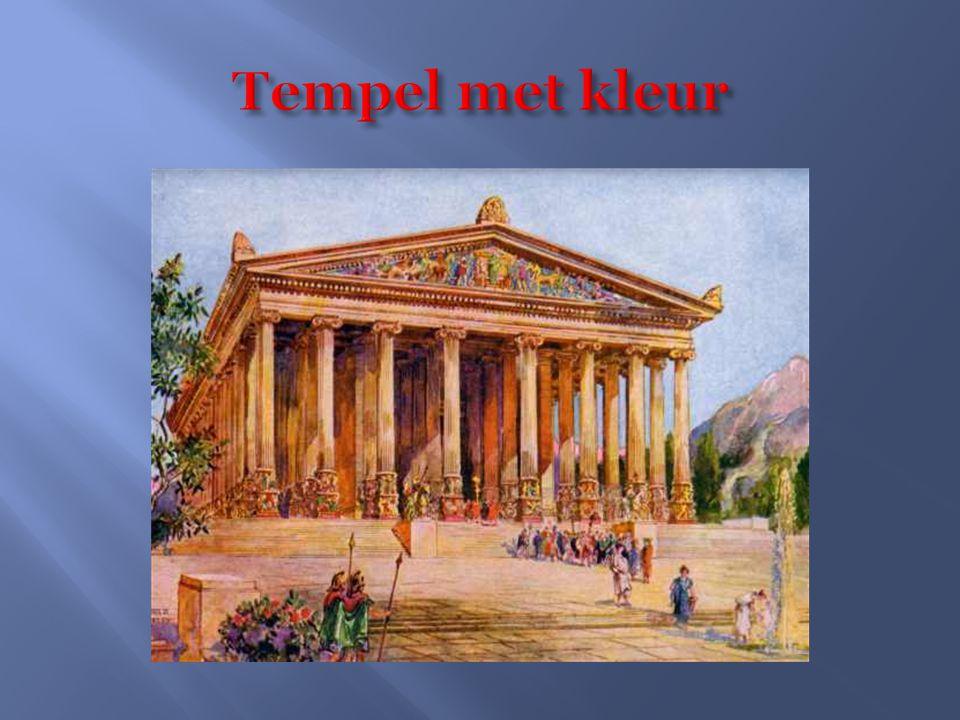Tempel met kleur
