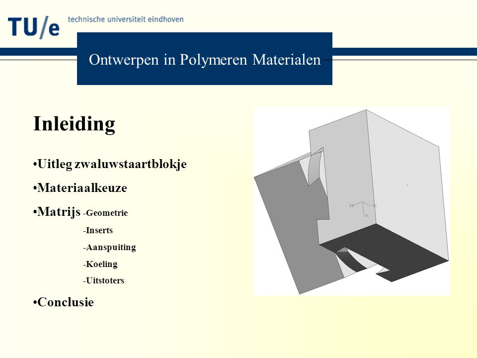 Ontwerpen in Polymeren Materialen