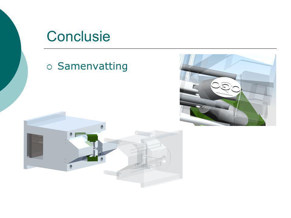 Conclusie Samenvatting