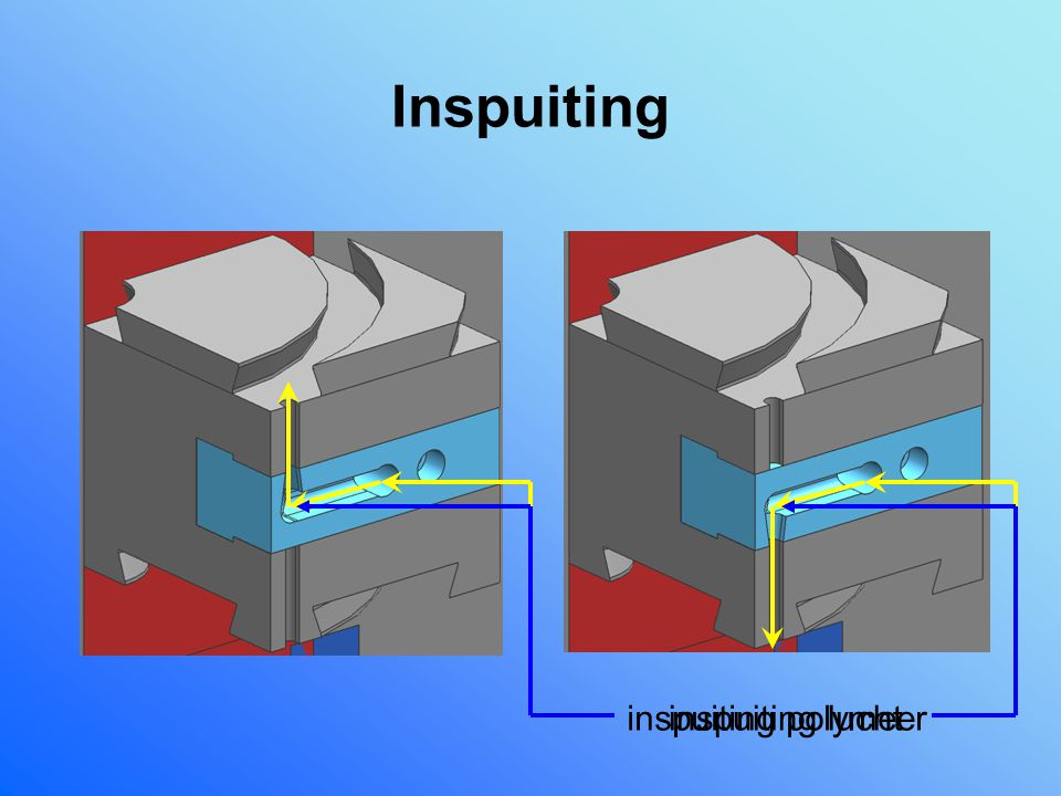 Inspuiting inspuiting polymeer inspuiting lucht
