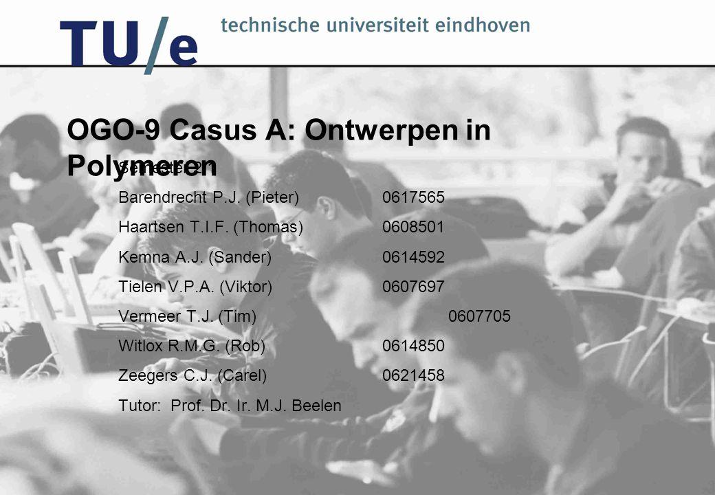 OGO-9 Casus A: Ontwerpen in Polymeren