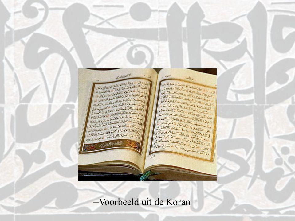 =Voorbeeld uit de Koran