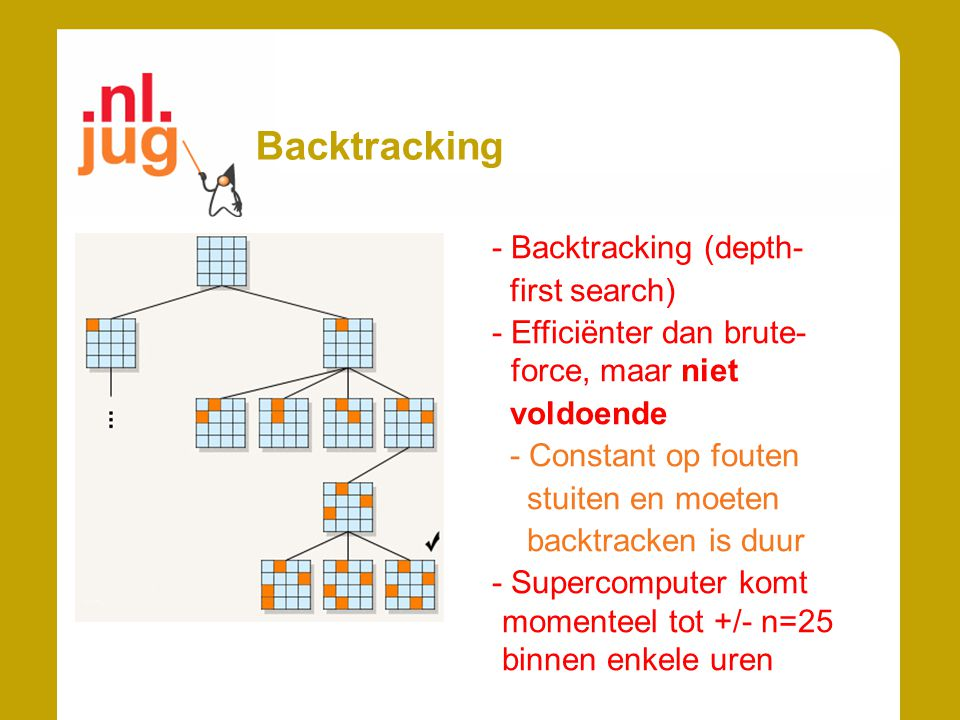 Backtracking - Backtracking (depth- first search)