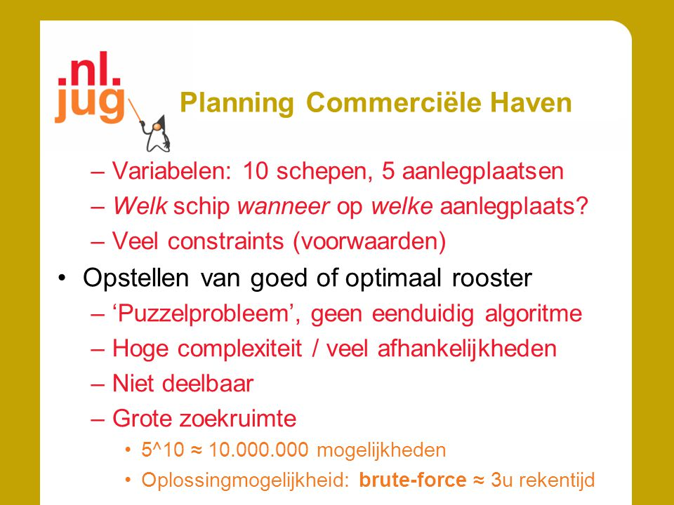 Planning Commerciële Haven