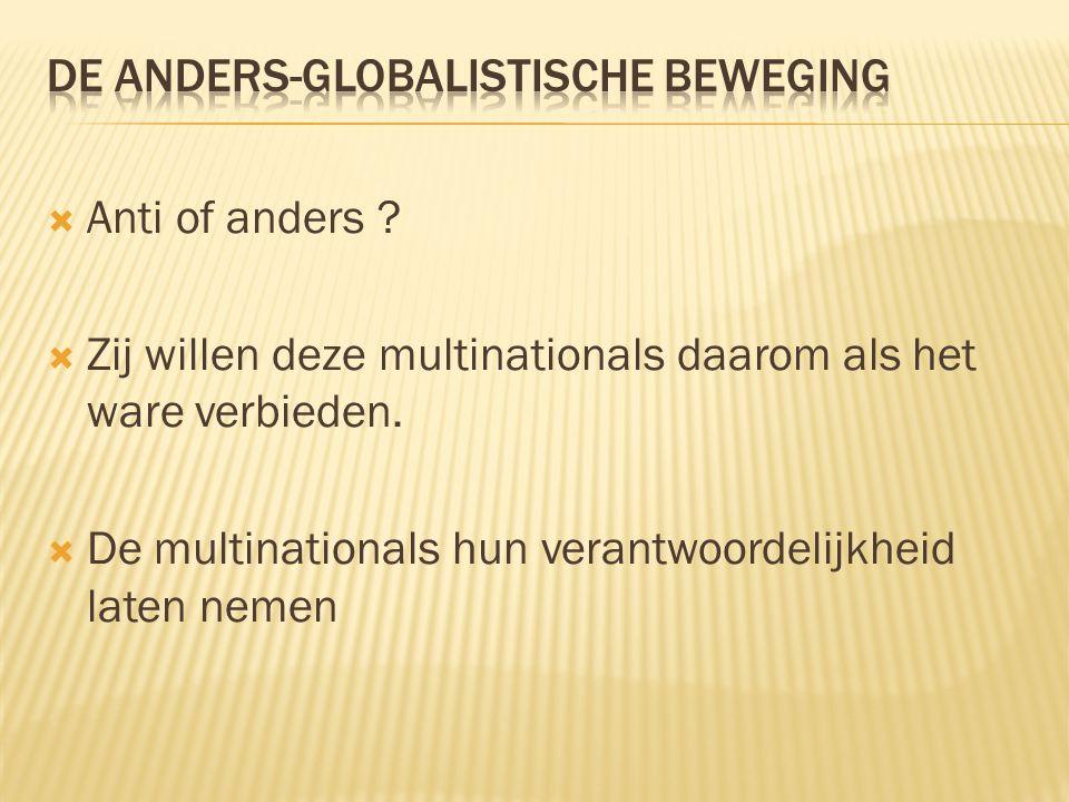 De anders-globalistische beweging
