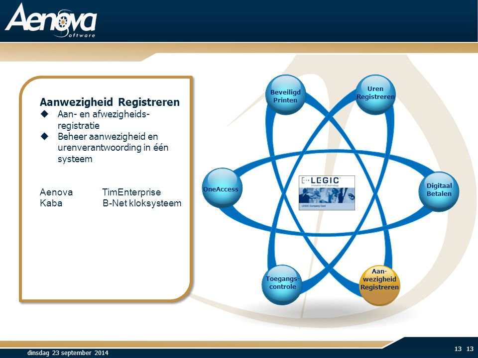 Aanwezigheid Registreren