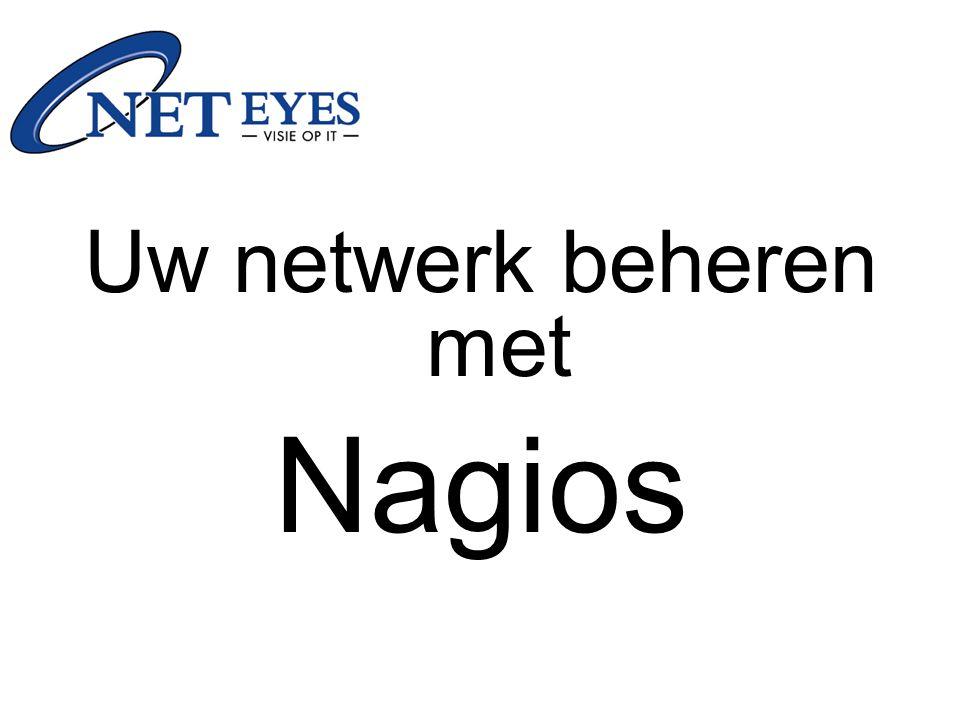 Uw netwerk beheren met Nagios