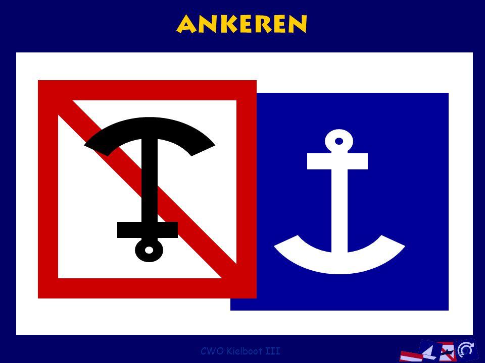 Ankeren CWO Kielboot III
