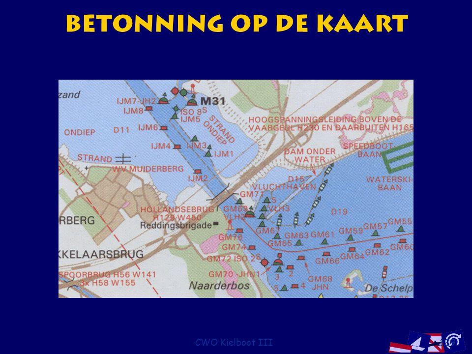 Betonning op de kaart CWO Kielboot III