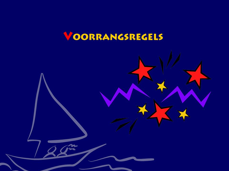 Voorrangsregels CWO Kielboot III