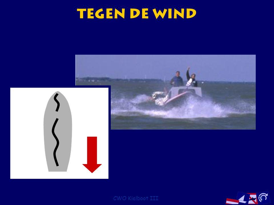 Tegen de wind CWO Kielboot III
