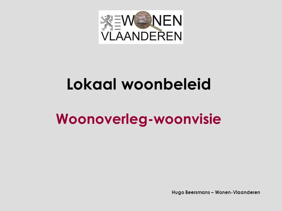 Lokaal woonbeleid Woonoverleg-woonvisie