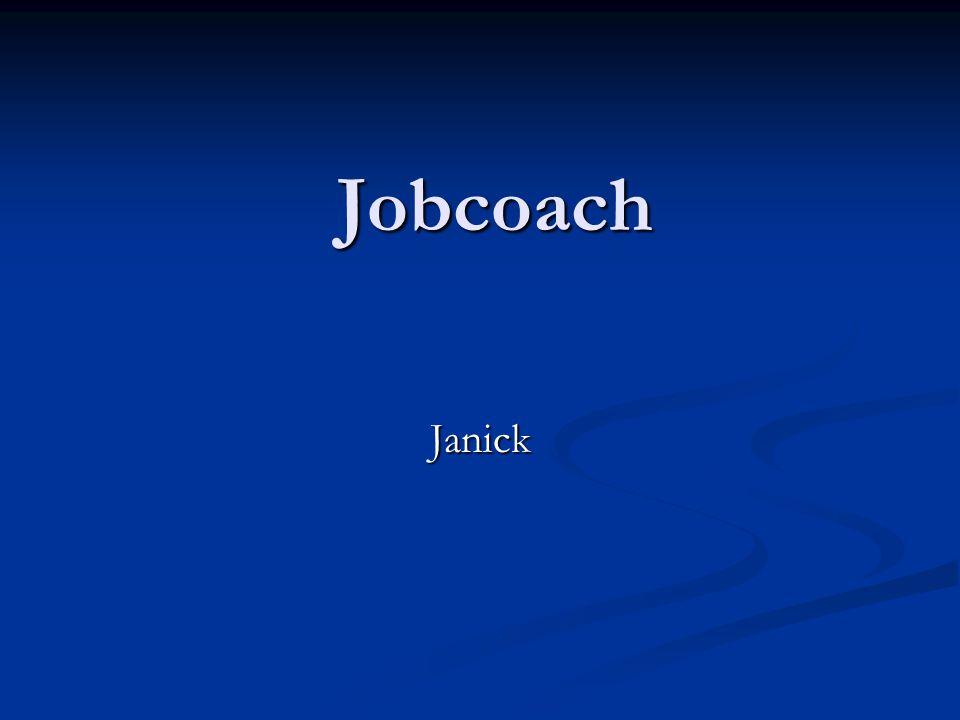 Jobcoach Janick