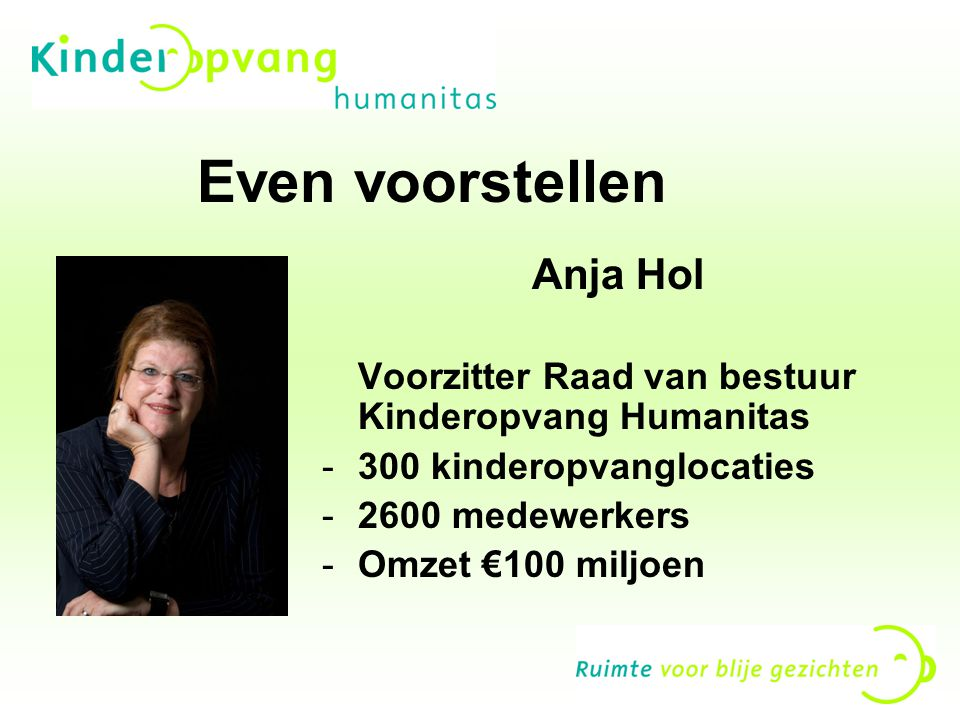 Even voorstellen Anja Hol