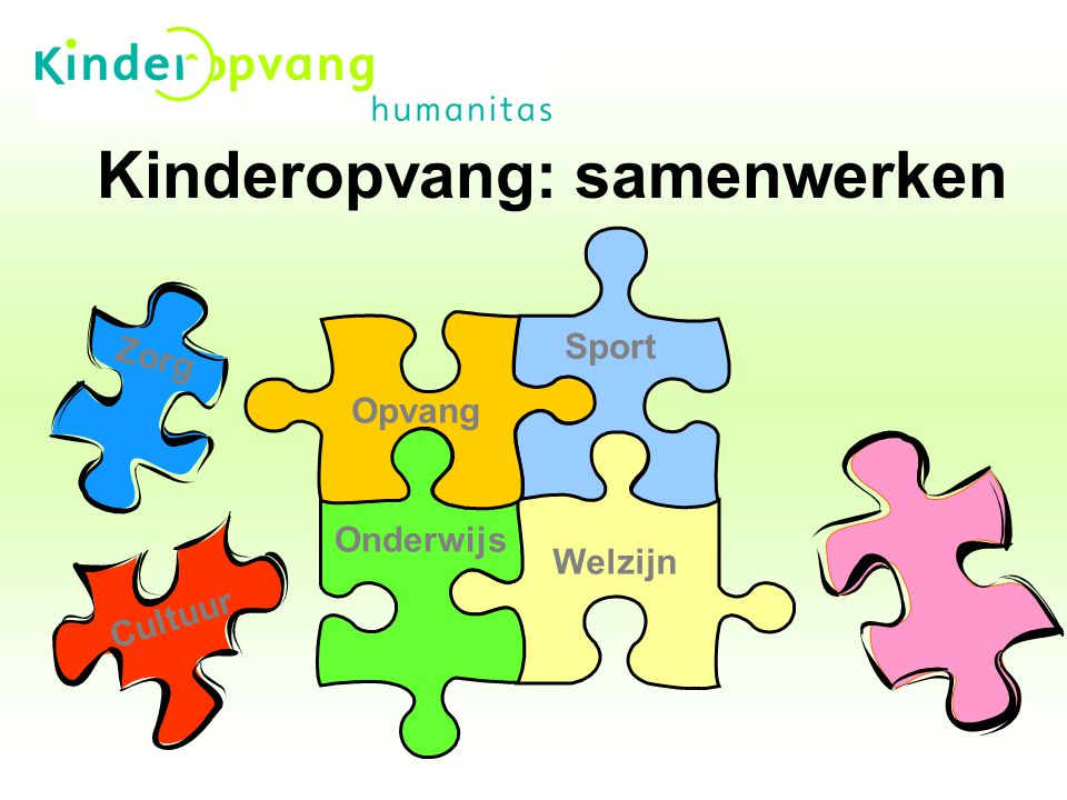 Kinderopvang: samenwerken
