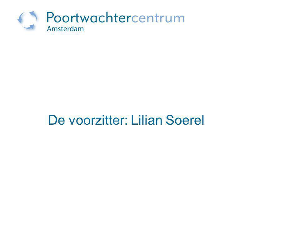 De voorzitter: Lilian Soerel