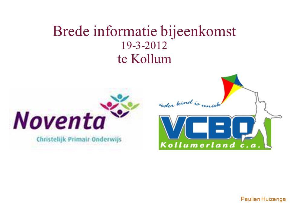 Brede informatie bijeenkomst 19-3-2012 te Kollum