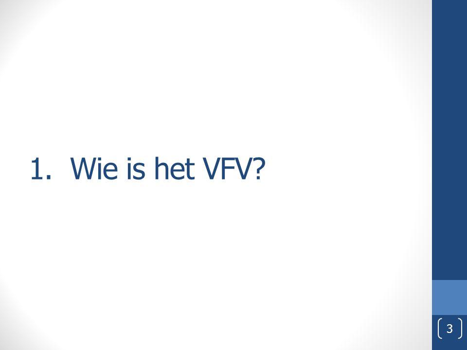 1. Wie is het VFV