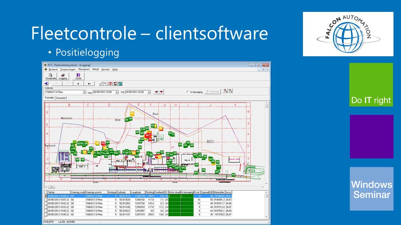 Fleetcontrole – clientsoftware