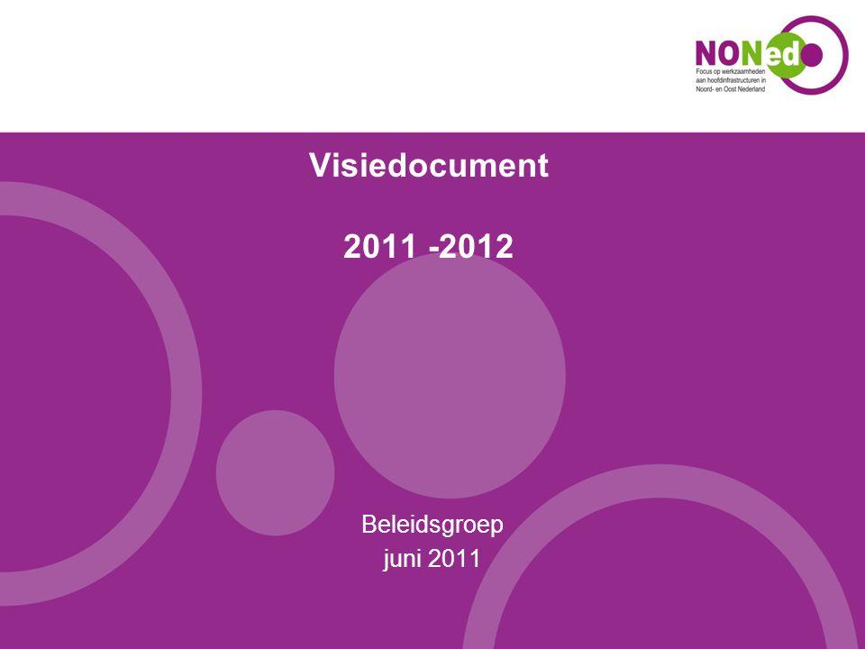 Visiedocument 2011 -2012 Beleidsgroep juni 2011