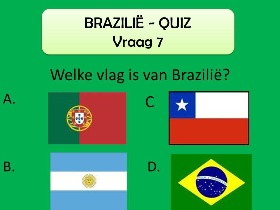 Welke vlag is van Brazilië
