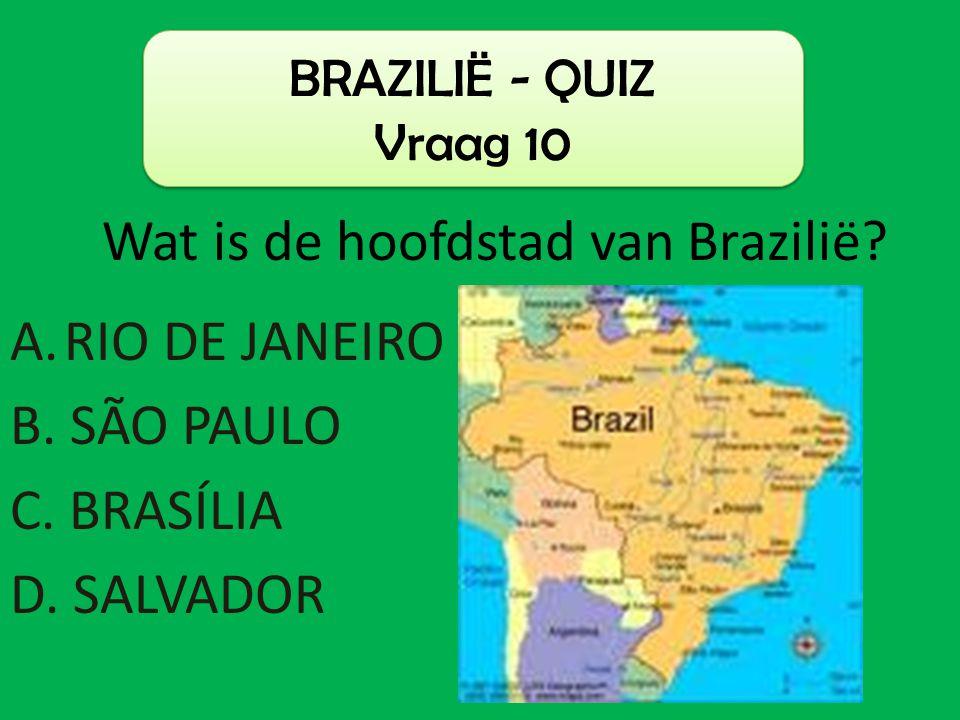 Wat is de hoofdstad van Brazilië