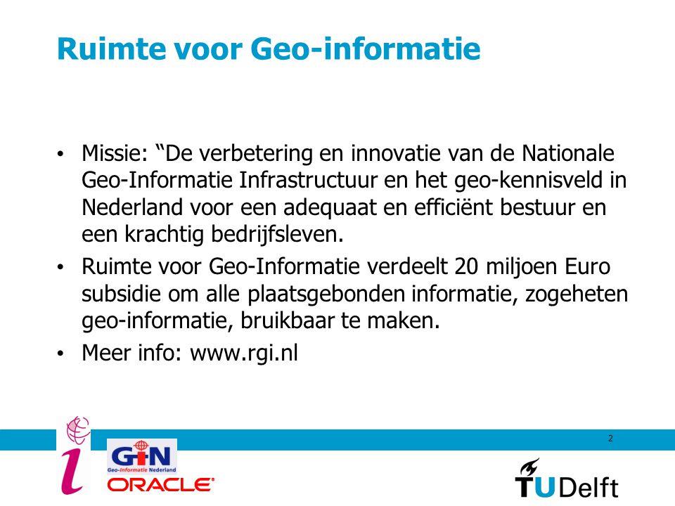 Ruimte voor Geo-informatie
