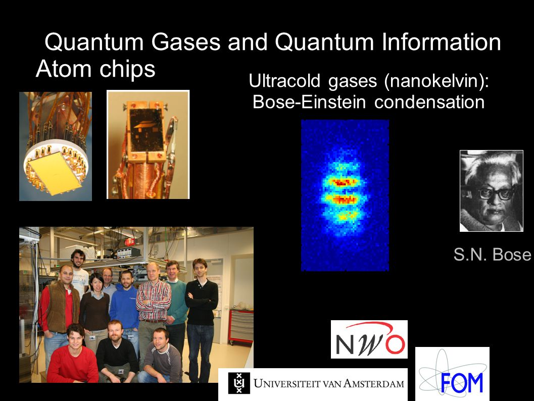 Quantum Gases and Quantum Information Atom chips