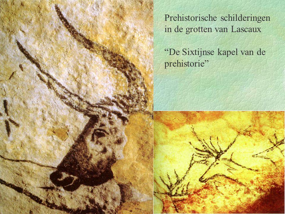 Prehistorische schilderingen in de grotten van Lascaux