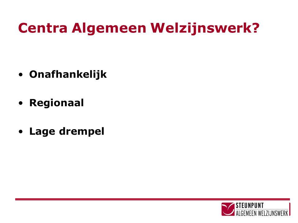 Centra Algemeen Welzijnswerk